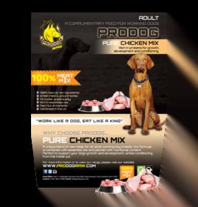 Raw Pure Chicken Mix