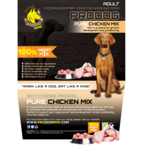 ProDog natural diet for dogs