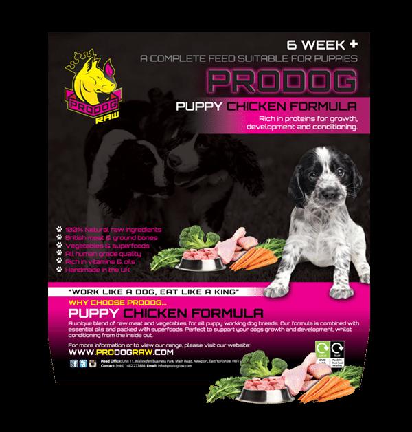 Defra Approved Dog Food