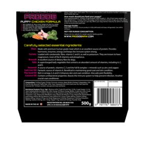 raw food diet for puppies UK