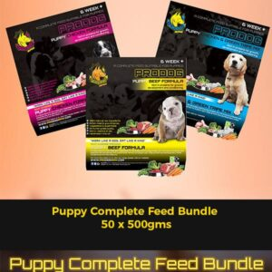 Puppy Complete Feed Bundle