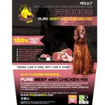 Pure Beef with Chicken Raw Dog Food