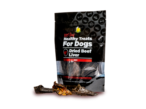 Dried Beef Liver Treat for Dogs