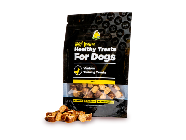 Venison Training Treats for Dogs