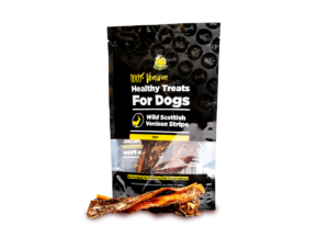Wild Scottish Venison Strips Treat for Dogs